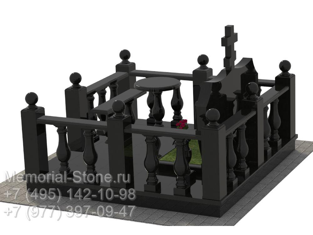 Мемориальные комплексы на могилу из гранита