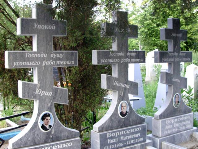Православные памятники из гранита