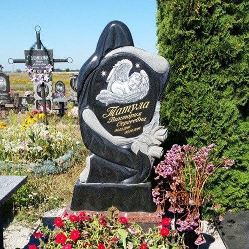 Детский памятник из гранита ребенку