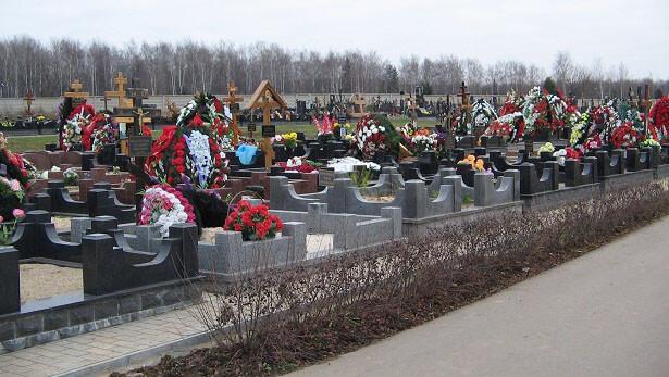 Памятники на Троекуровском кладбище