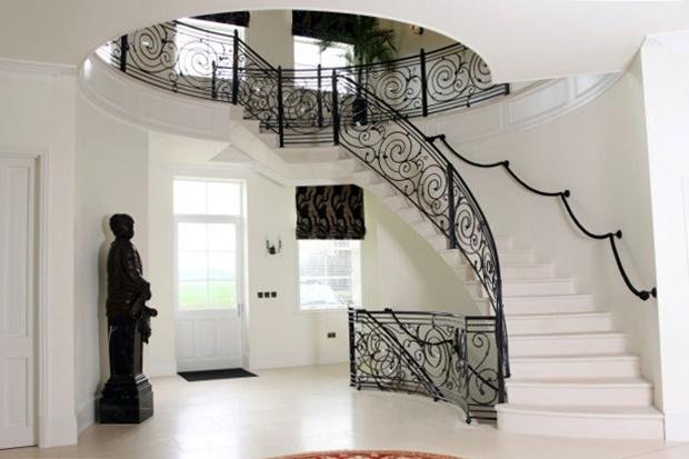 Каменные лестницы в Москве: гранит, мрамор